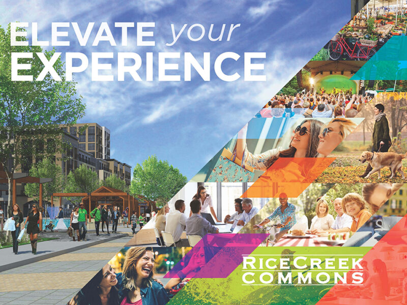 Rice Creek Commons_Brochure cover